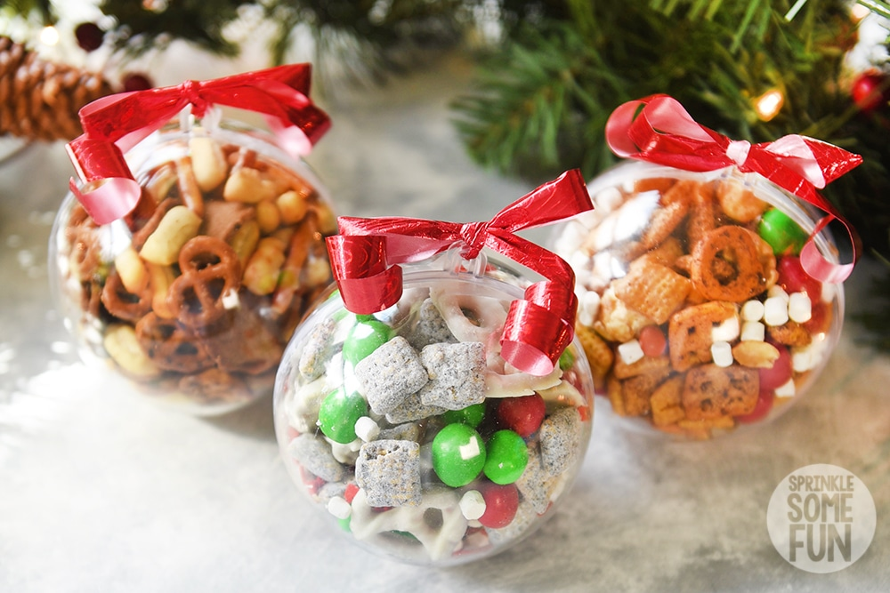 Christmas Snack Mix for Snack Mix Ornaments