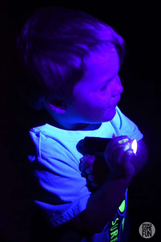 Blacklight Flashlights for Easter Egg Hunt