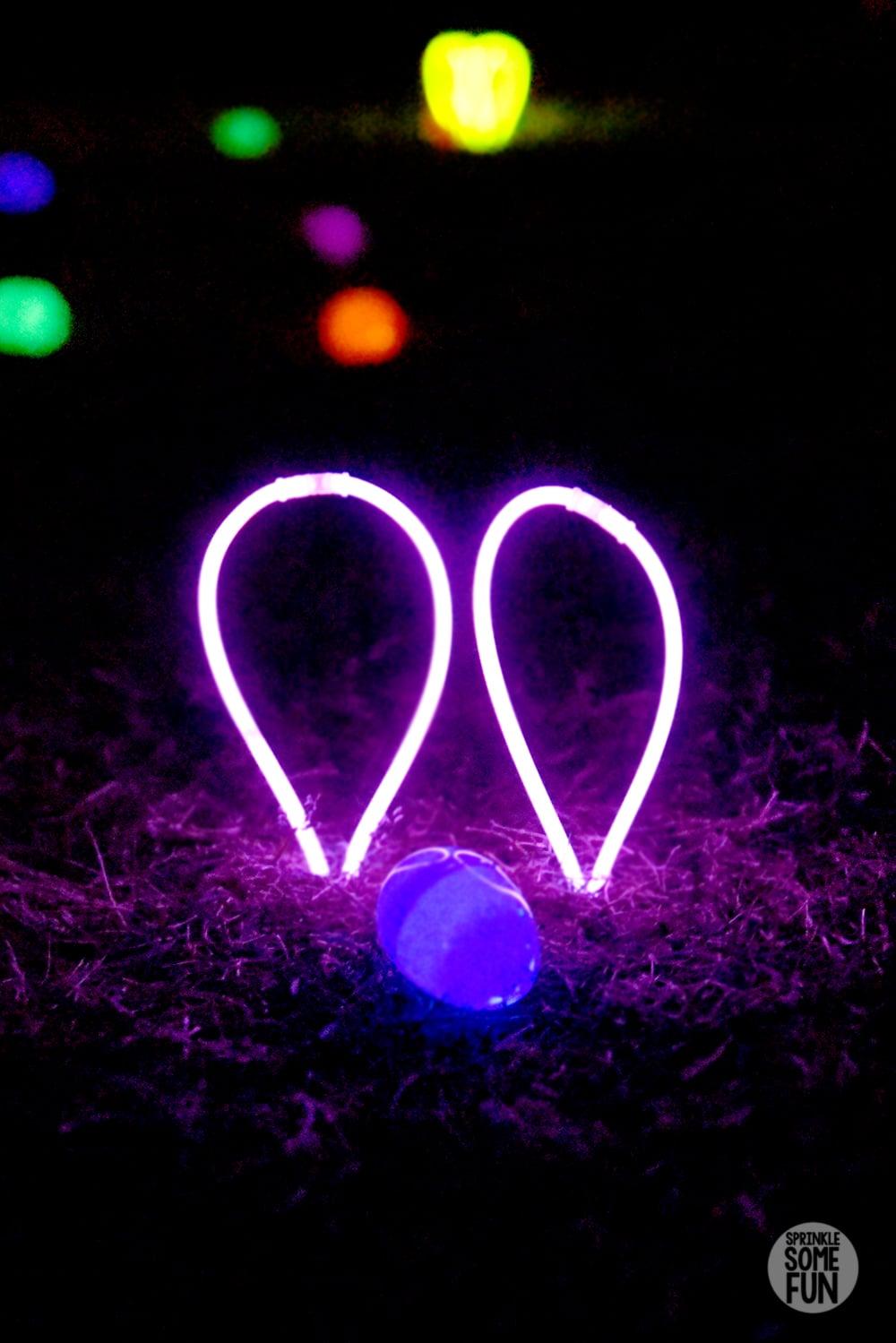 Glow in the Dark Egg Hunt Ideas